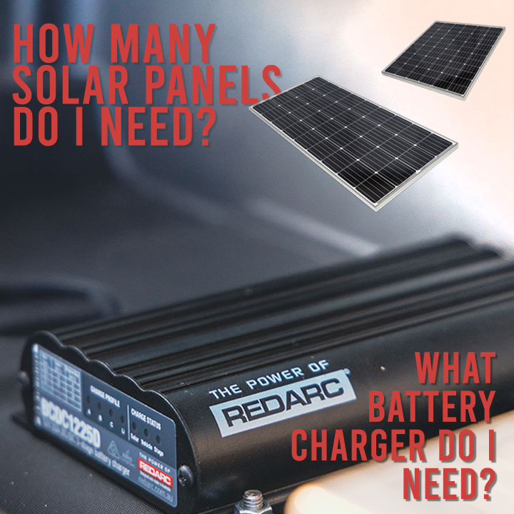 redarc bcdc charger accessories